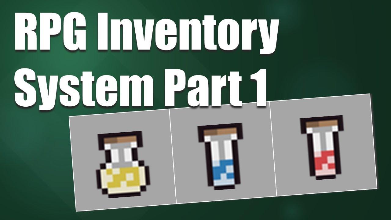 RPG Inventory